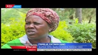 KTN Leo: Tanzia huku familia kaunti ya Trans Nzoia wakililia mauaji ya mtoto wao huko KIU