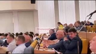 В Николаеве на сессии произошла перепалка между Замазеевой и Москаленко. ВИДЕО