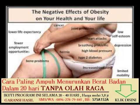 Menunjukkan penurunan berat badan pada th