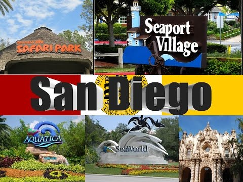 Video Visit San Diego, California, U.S.A.: Things to do in San Diego - America's Finest City