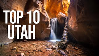 TOP 10 PLACES IN UTAH | (That Aren't National Parks)