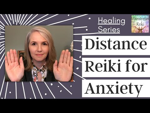 Distance Reiki for Anxiety