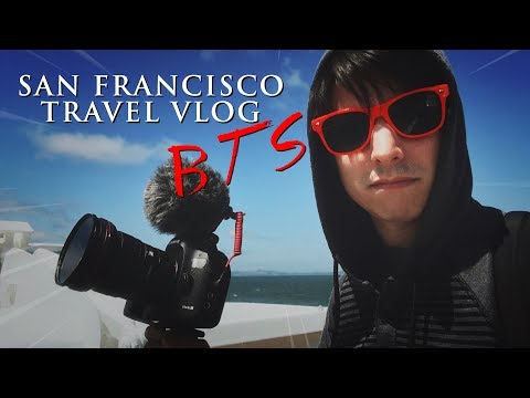SAN FRANCISCO TRAVEL VLOG | MY RØDE REEL BTS