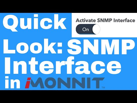 how to activate the SNMP Interface on an Ethernet Gateway on iMonnit