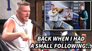 Pat McAfee Misses The Days Of Having A Small Following...