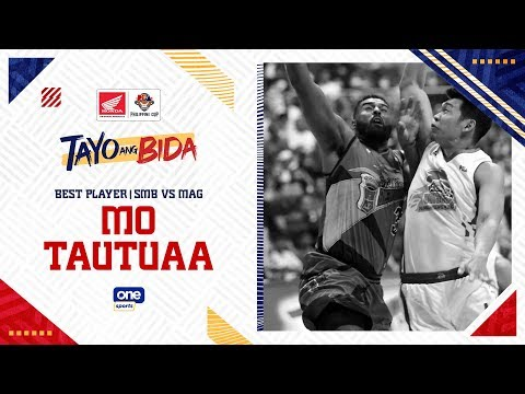 [Sport5]  Best Player: Mo Tautuaa | PBA Philippine Cup 2020
