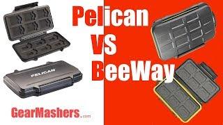 Pelican 0915 Vs Beeway SD Card Case Review 2018 (Beeway Wins)