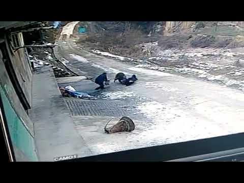 Нападение дикого кабана на китайскую деревню