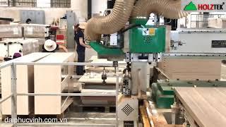 MÁY ĐỤC Ổ KHOÁ CỬA ĐI CNC D2400 Cnc của Holztek giá tốt nhất tp HCM