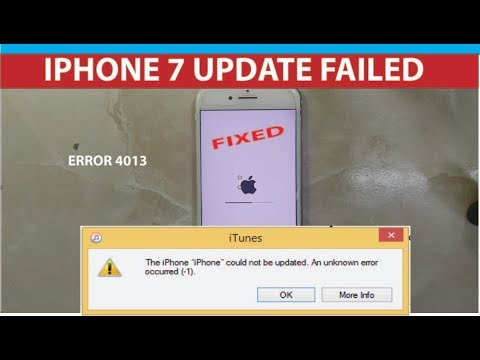 Download Iphone 7 Error 4013 For Data Recovery Video 3GP Mp4 FLV HD
