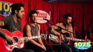 """Boys Like Girls - """"Love Drunk"""" Live At 1075 The River"""