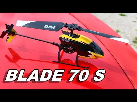 Extremely Beginner Friendly RC Helicopter – BLADE 70 S – TheRcSaylors