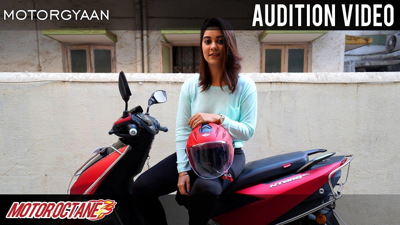 Motoroctane Youtube Video - New Girl Audition Video - Anchor | Hindi | MotorOctane