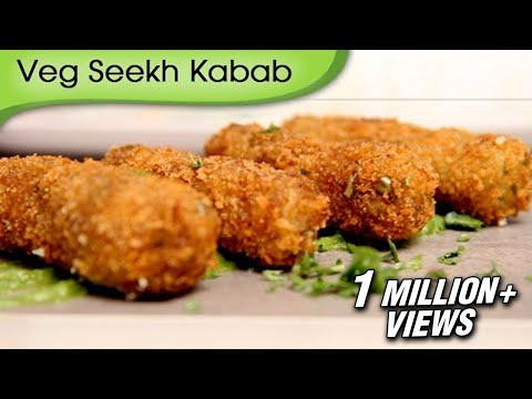 Veg Seekh Kebab | Quick Easy To Make Appetizer / Starter | Crispy Snack Recipe by Ruchi Bharani
