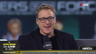 Alan Tudyk Takes The Stage At SWCC 2019 | The Star Wars Show Live!