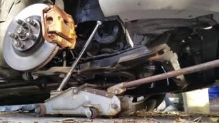 Nissan 350z Engine Build Part 4, Crank Bolt Removal
