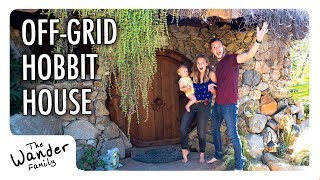 "Off-Grid Hobbit House Tour | The Wander Family ""Stays"""