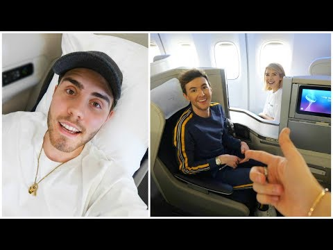 FLYING TO NEW YORK WITH FRIENDS & FAMILY