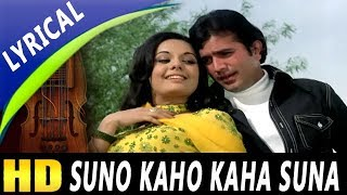 Suno Kaho Kaha Suna With Lyrics | Kishore Kumar, Lata