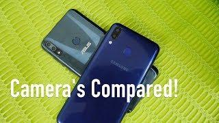 Samsung Galaxy M20 vs Asus Zenfone Max Pro (M2) ZB631KL Camera Compared