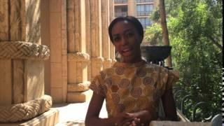 Busi Mahlangu Miss South Africa 2015 finalist at pre judging