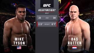 EA Sports U.F.C 2 Deluxe Edition Mike Tyson vs Bas Rutten
