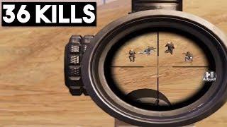 BROKE MY OWN RECORD!   36 KILLS Duo vs Squad   PUBG Mobile