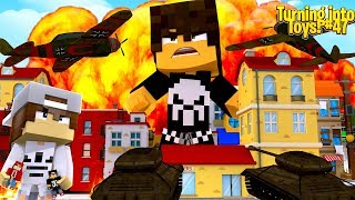 Minecraft Toys #47 - THE ARMY ARE TRYING TO KILL BOBBY TOY ROPO & JACK MUST SAVE HIM!!