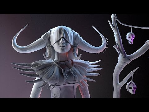 zbrush tutorials sculpt timelapse shakal by carmela paglionico