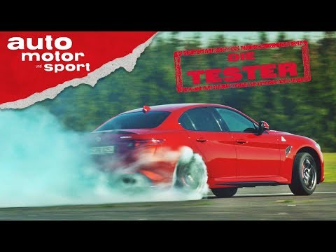 Alfa Romeo Giulia Quadrifoglio: Rauchverbot aufgehoben! - Die Tester | auto motor und sport