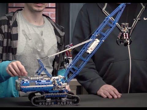 LEGO® Technic Гусеничный подъемный кран 42042