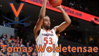 """<p style=""""text-align: justify;"""">Tomas Woldetensae - Virginia Cavaliers</p>"""