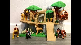 Lion King Pride Lands Playset and Deluxe Figure Set review with a sing along!