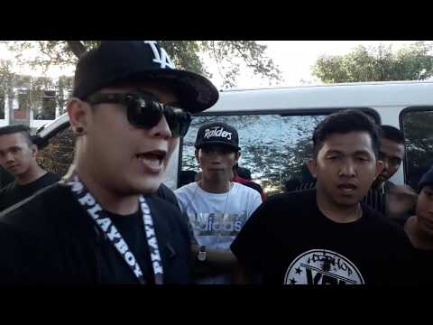 Laglagan Rap Battle League - Lil Weng Vs Nhusty J ( Freestyle Battle King 6 TOURNAMENT SEMI FINALS )