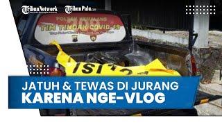 Jalan Mundur saat Nge-Vlog, Wisatawan Tewas Terjatuh ke Jurang Kali Talang Gunung Merapi