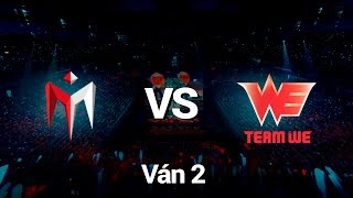 [28.08.2016][Regional Qualifiers] IM vs WE [Ván 2]