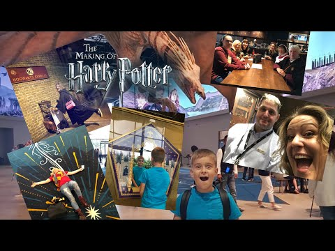 HARRY POTTER UK VISITS THE WARNER BROS STUDIOS FOR OUR 22nd VISIT. HARRY AND VICTORIA MACLEAN