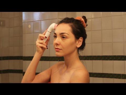 PULIZIA DEL VISO CON LE SPAZZOLE | Review FaceSpa Braun