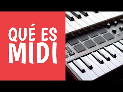 Aprende Qué es MIDI en la Música y para qué Sirve - Tecnología Musical