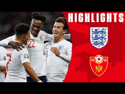 England 7-0 Montenegro | Three Lions Shine in Seven Goal Win! | Euro 2020 Qualifiers | England