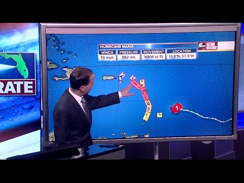Florida's Most Accurate Forecast with Jason on Sunday, September 17, 2017