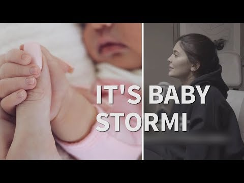 Kylie Jenner introduces her daughter Stormi