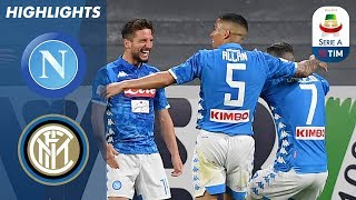 Napoli 4-1 Inter | Napoli Hit Four To Dent Inter's UCL Chance | Serie A