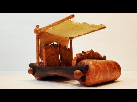 Building the Flintstones Car Out of Wood
