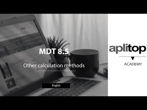 MDT8 Other calculation methods