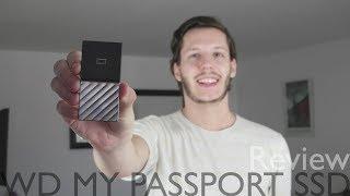 1 TB für die Hosentasche - WD My Passport SSD Review (Deutsch)
