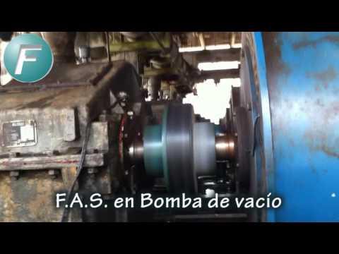 Bombas de vacío trabajando con Acoples FUNDAL modelo F.A.S.