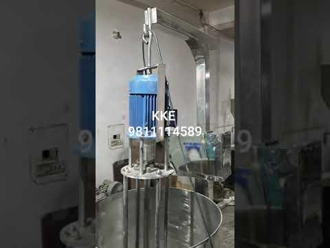 Industrial Mixers And Homogenizer