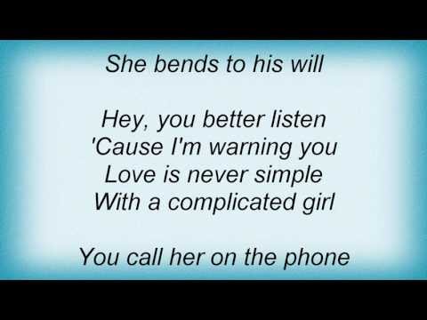 Bangles - Complicated Girl Lyrics