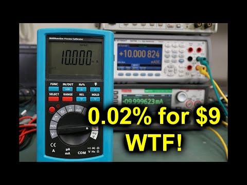 EEVblog #1248 - INSANE! A 0.02% Process Meter for $9? WTF!